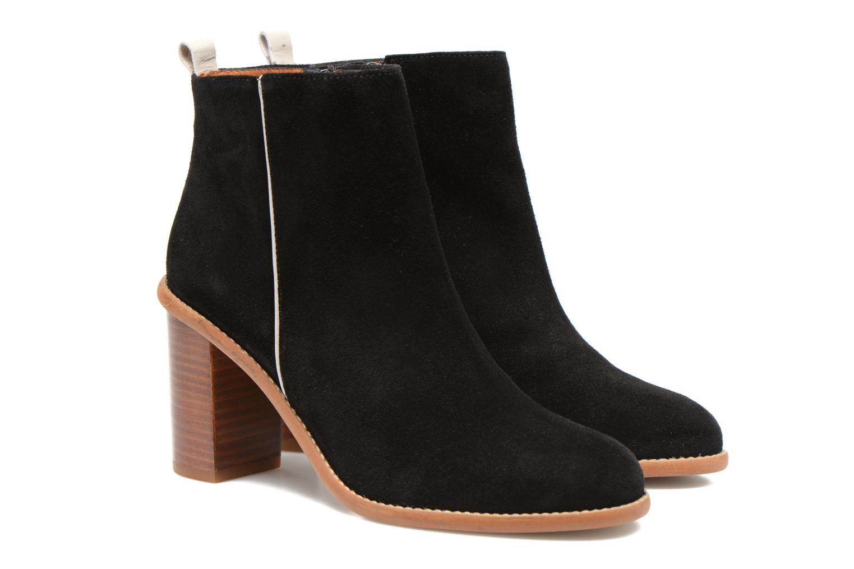 Bottines et boots Made by SARENZA Western Fever #5 Noir vue derrière