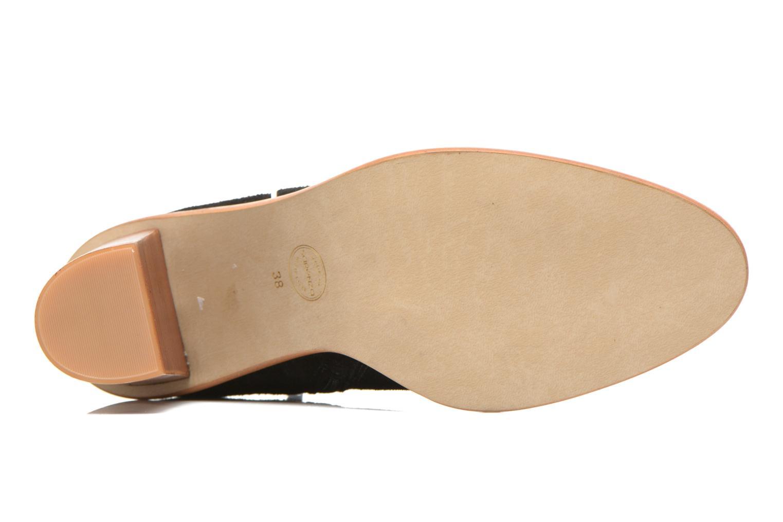 Bottines et boots Made by SARENZA Western Fever #5 Noir vue haut
