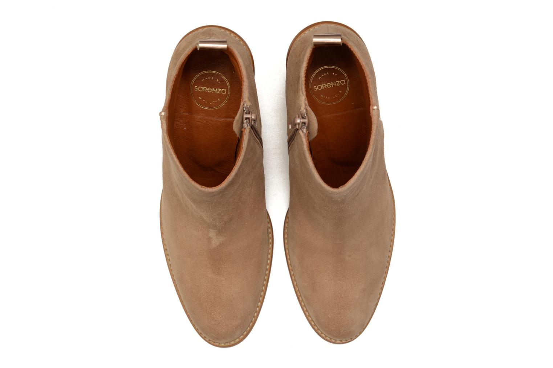 Bottines et boots Made by SARENZA Western Fever #5 Marron vue portées chaussures