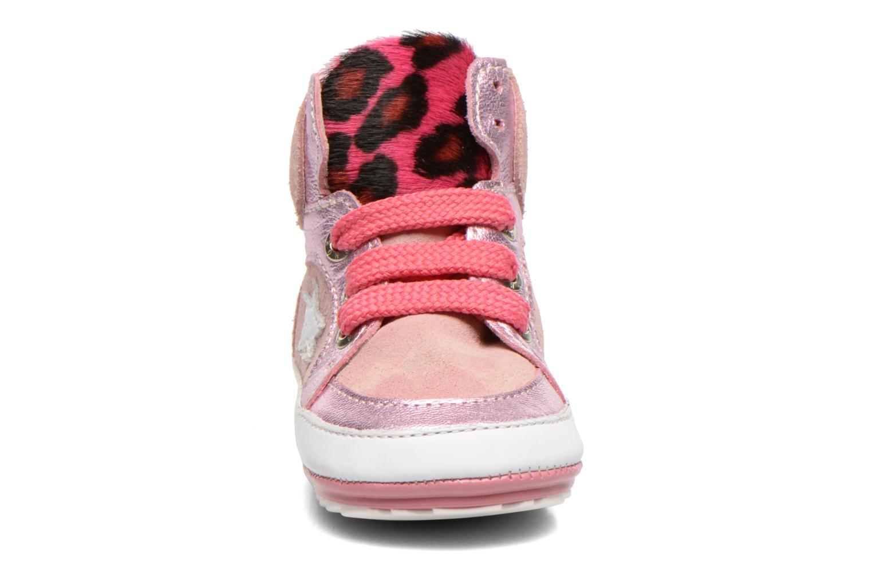 Baskets Shoesme Silvia Rose vue portées chaussures