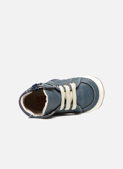 Deportivas Shoesme Spencer Azul vista lateral izquierda