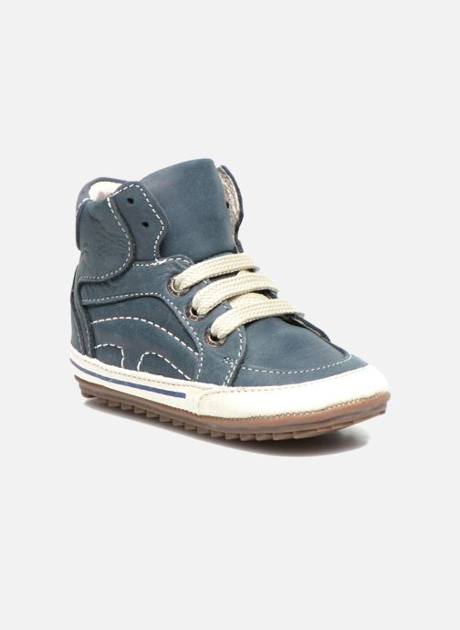 Trainers Shoesme Spencer Blue detailed view/ Pair view