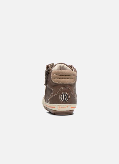 Baskets Shoesme Spencer Marron vue droite