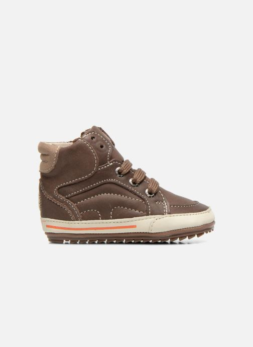 Sneakers Shoesme Spencer Marrone immagine posteriore