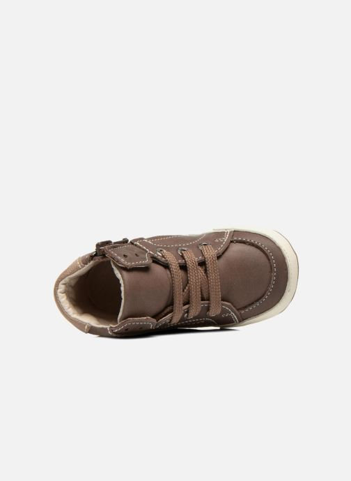 Sneakers Shoesme Spencer Marrone immagine sinistra