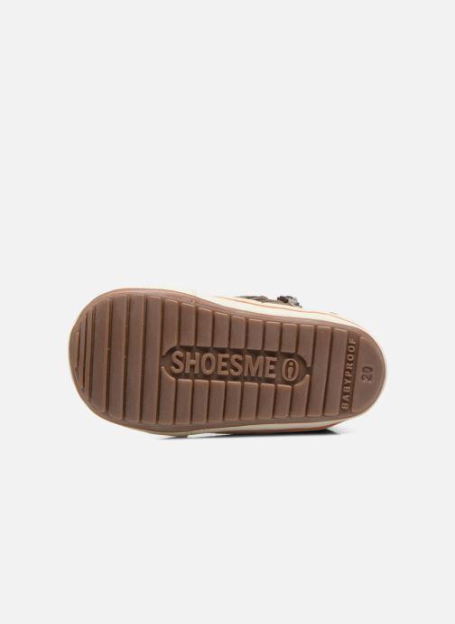 Sneakers Shoesme Spencer Marrone immagine dall'alto