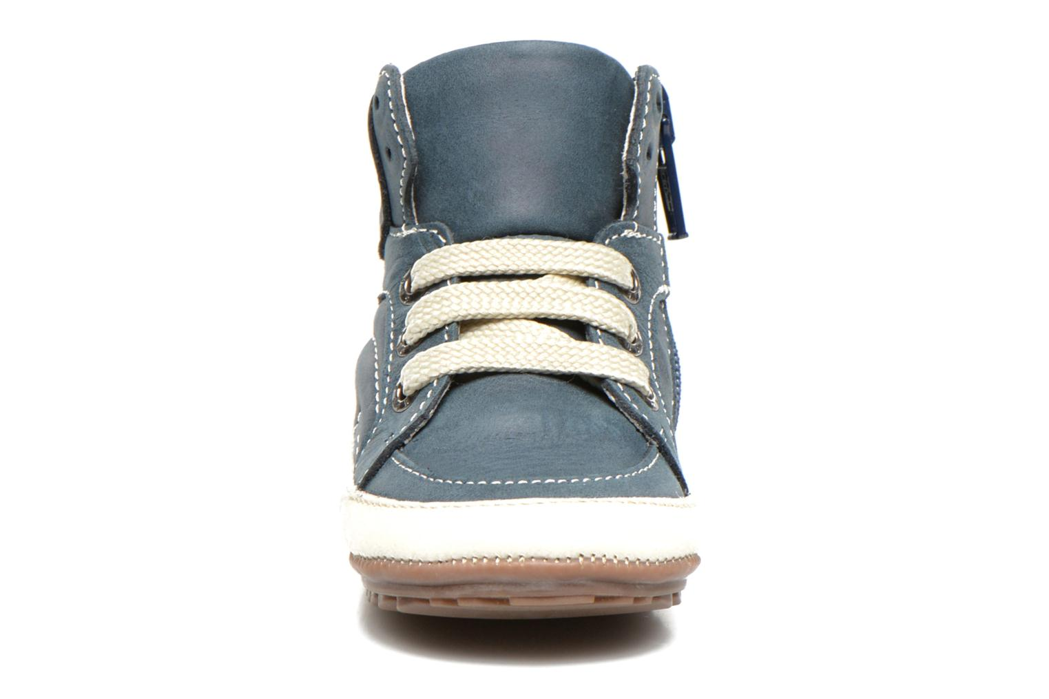 Trainers Shoesme Spencer Blue model view