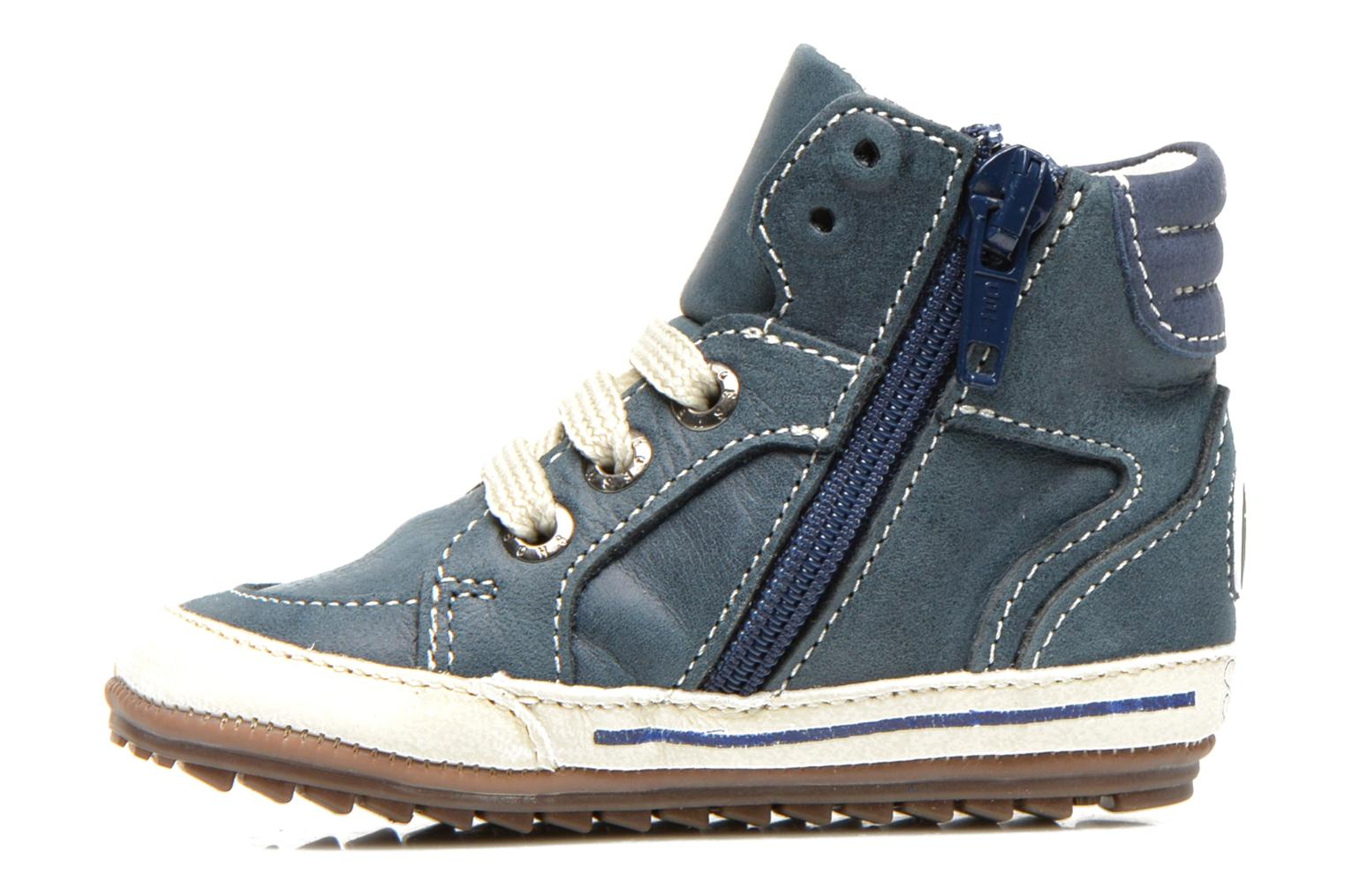 Trainers Shoesme Spencer Blue front view