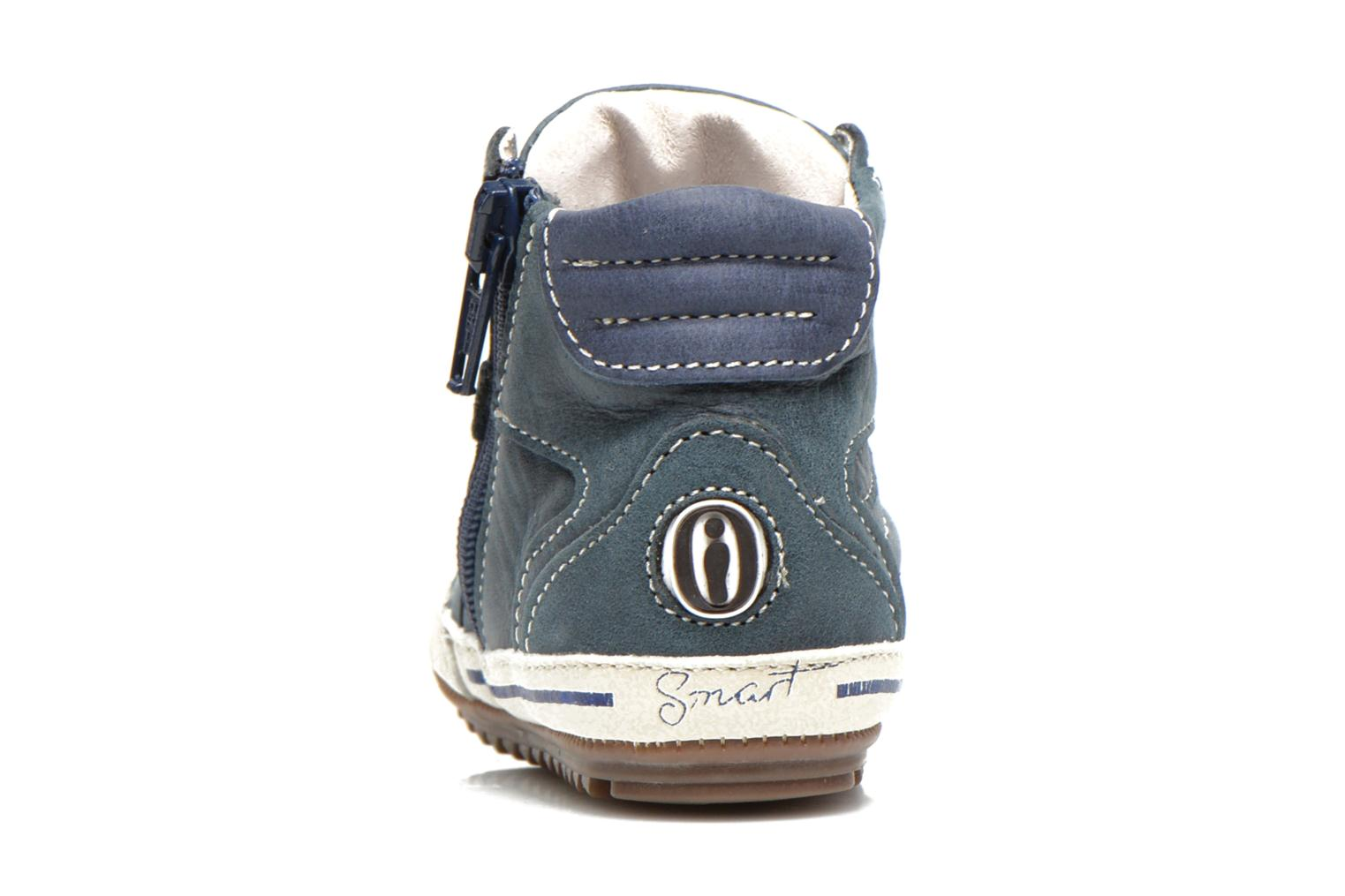 Trainers Shoesme Spencer Blue view from the right