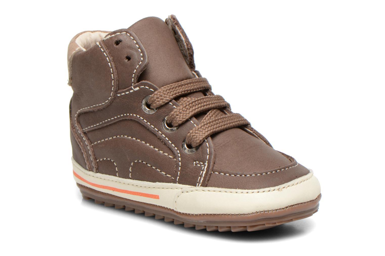 Sneakers Shoesme Spencer Brun detaljeret billede af skoene