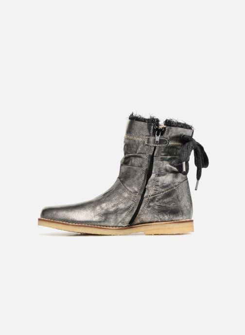 Stiefeletten & Boots Shoesme Sienna silber ansicht von vorne