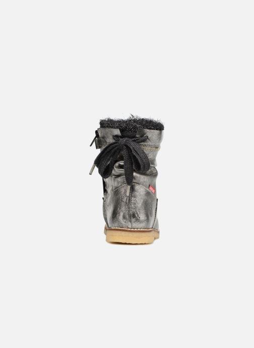 Stiefeletten & Boots Shoesme Sienna silber ansicht von rechts