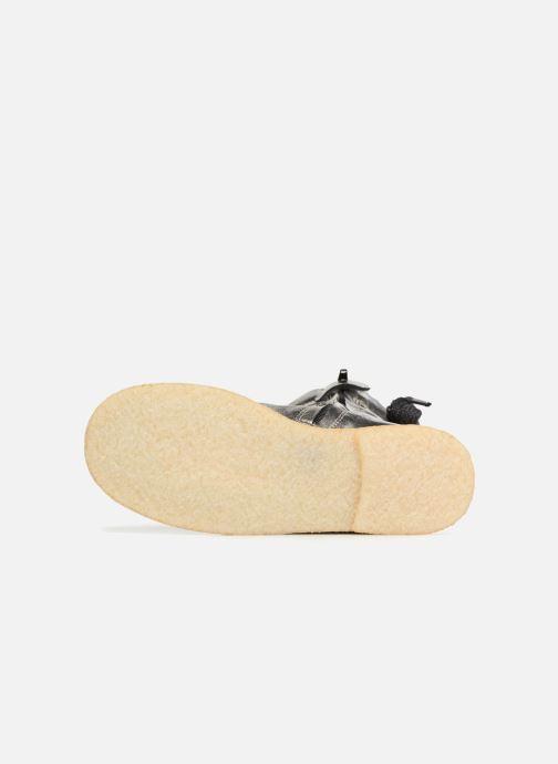 Stiefeletten & Boots Shoesme Sienna silber ansicht von oben