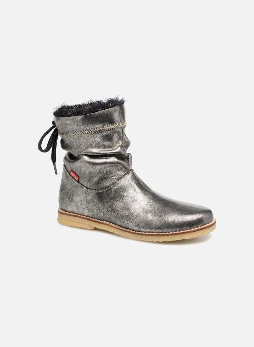 Ankelstøvler Shoesme Sienna Sølv detaljeret billede af skoene