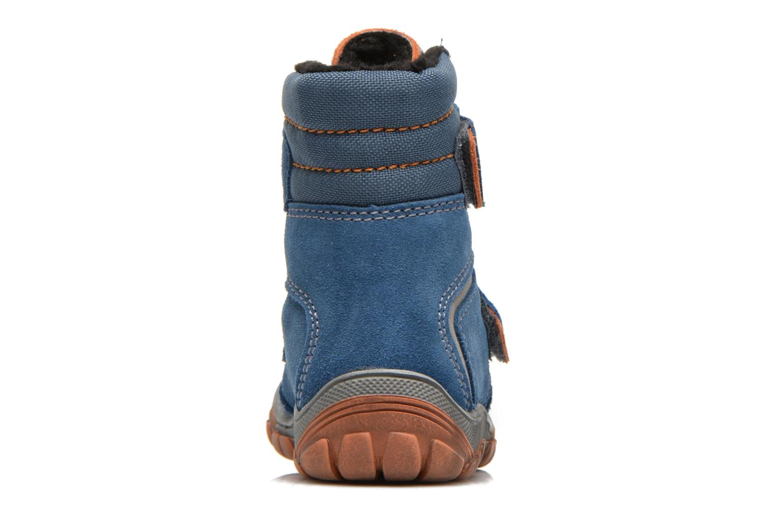 Ankle boots Richter Linz Blue view from the right