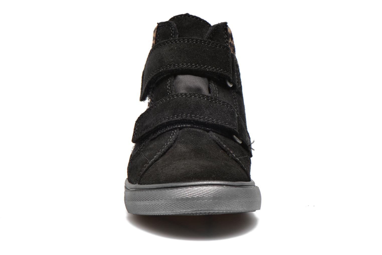 Zapatos con velcro Richter Fedora Negro vista del modelo
