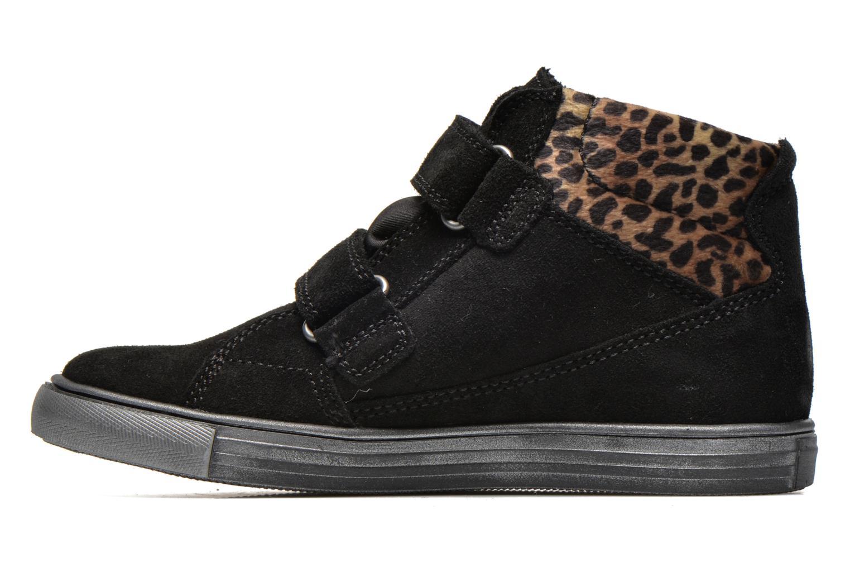 Zapatos con velcro Richter Fedora Negro vista de frente