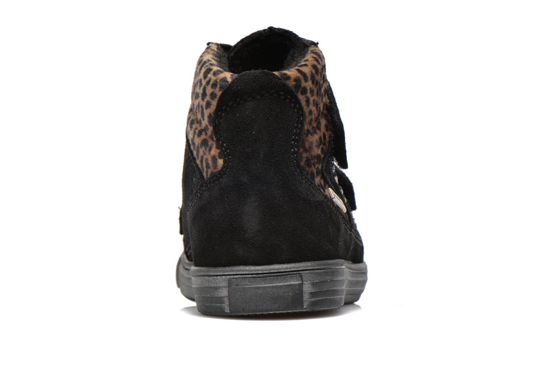 Chaussures à scratch Richter Fedora Noir vue droite