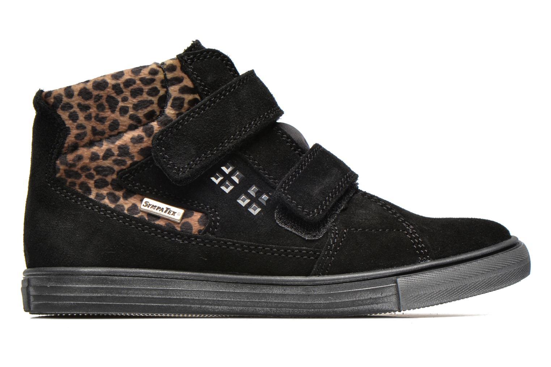 Zapatos con velcro Richter Fedora Negro vistra trasera