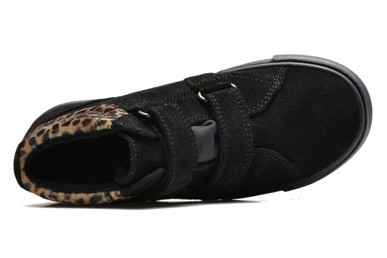 Chaussures à scratch Richter Fedora Noir vue gauche