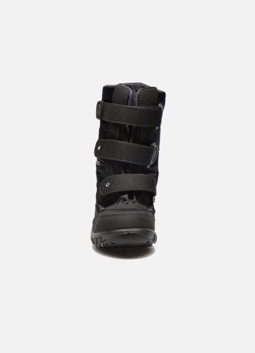 Stiefel Richter Husky schwarz schuhe getragen