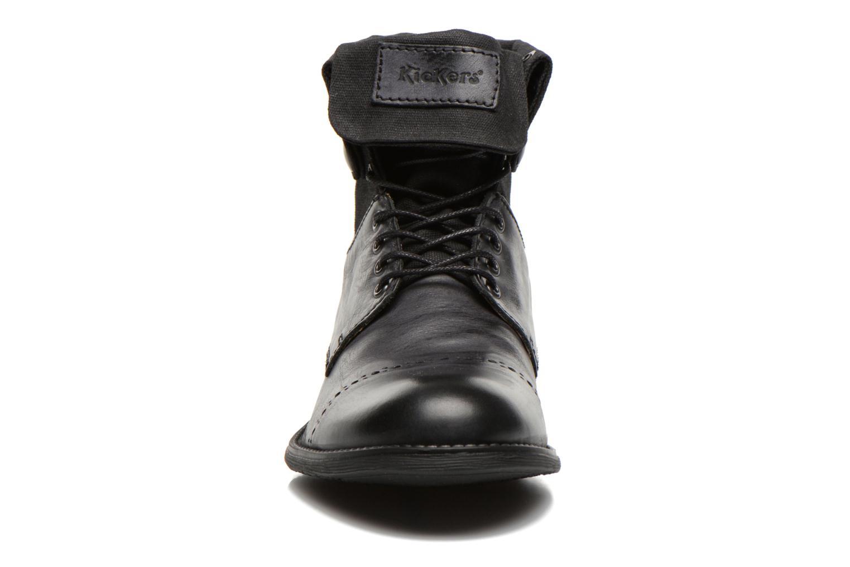 Bottines et boots Kickers MARSY Noir vue portées chaussures