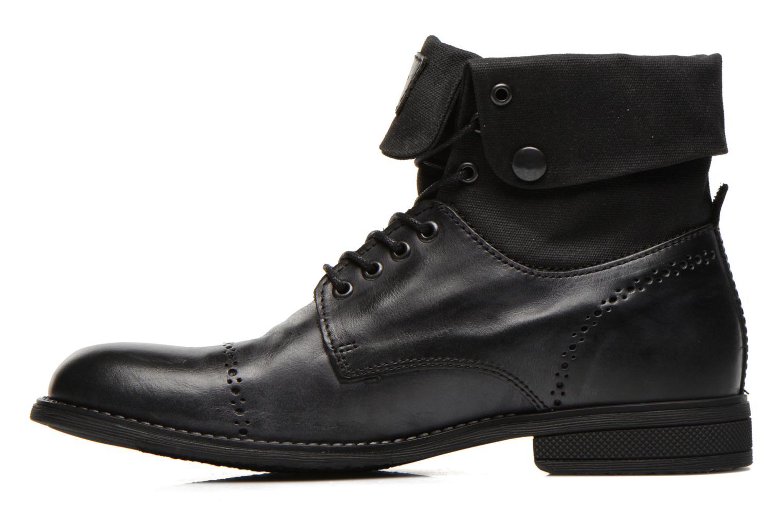 Bottines et boots Kickers MARSY Noir vue face