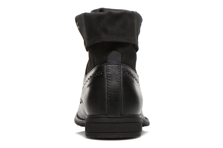 Bottines et boots Kickers MARSY Noir vue droite