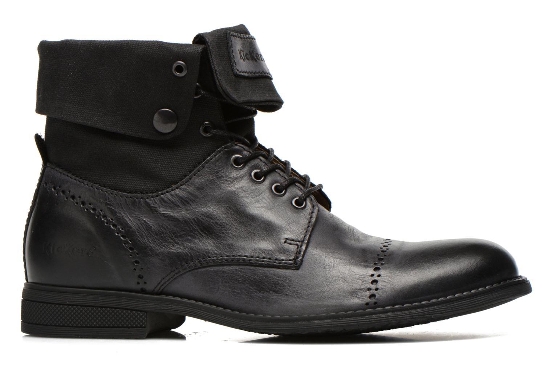 Bottines et boots Kickers MARSY Noir vue derrière