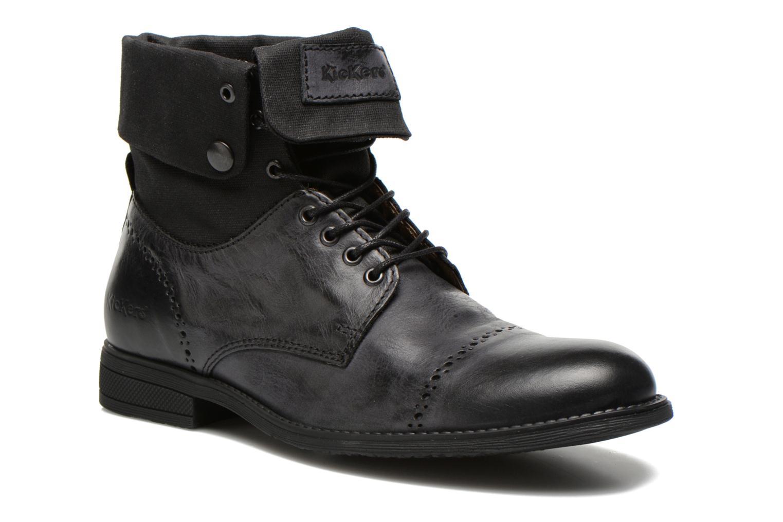 Bottines et boots Kickers MARSY Noir vue détail/paire