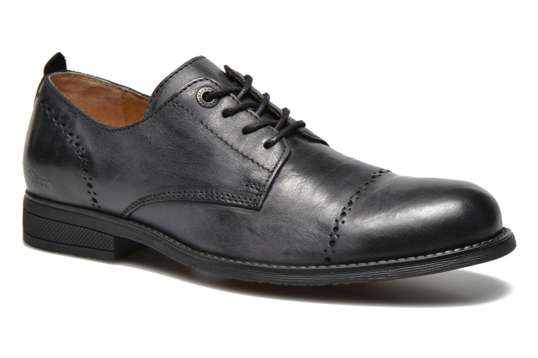 Zapatos con cordones Kickers MARLO Negro vista de detalle / par