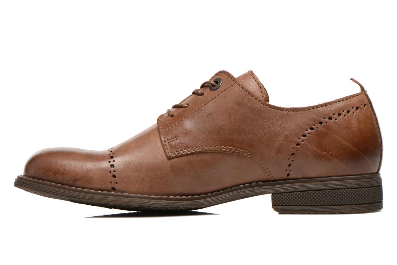 Snörade skor Kickers MARLO Brun bild från framsidan