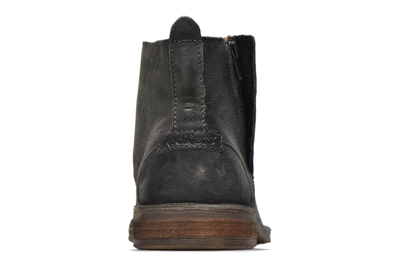 Bottines et boots Kickers BARY Gris vue droite
