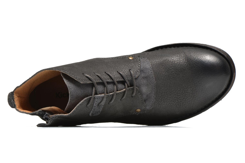 Bottines et boots Kickers BARY Gris vue gauche