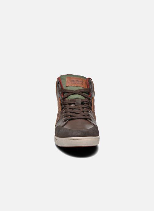 Baskets Kickers CRAFFITI Marron vue portées chaussures