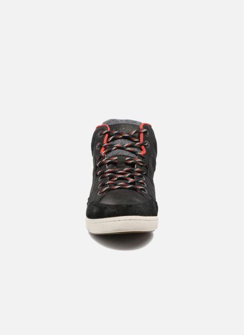 Baskets Kickers CRAFFITI Noir vue portées chaussures