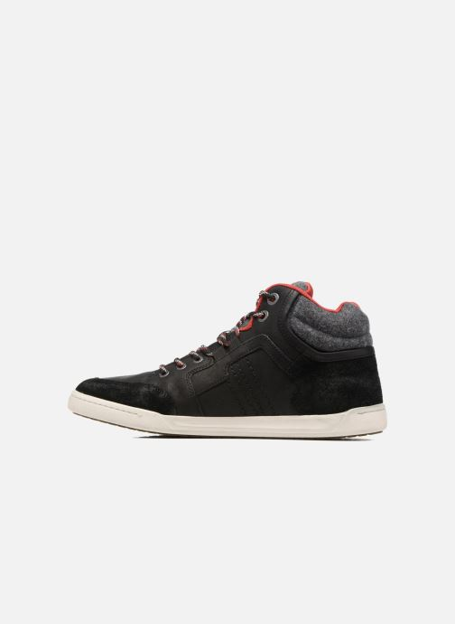 Baskets Kickers CRAFFITI Noir vue face