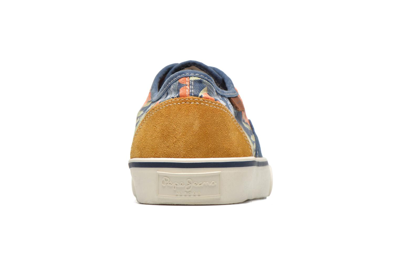Baskets Pepe jeans Harry Laces Bleu vue droite
