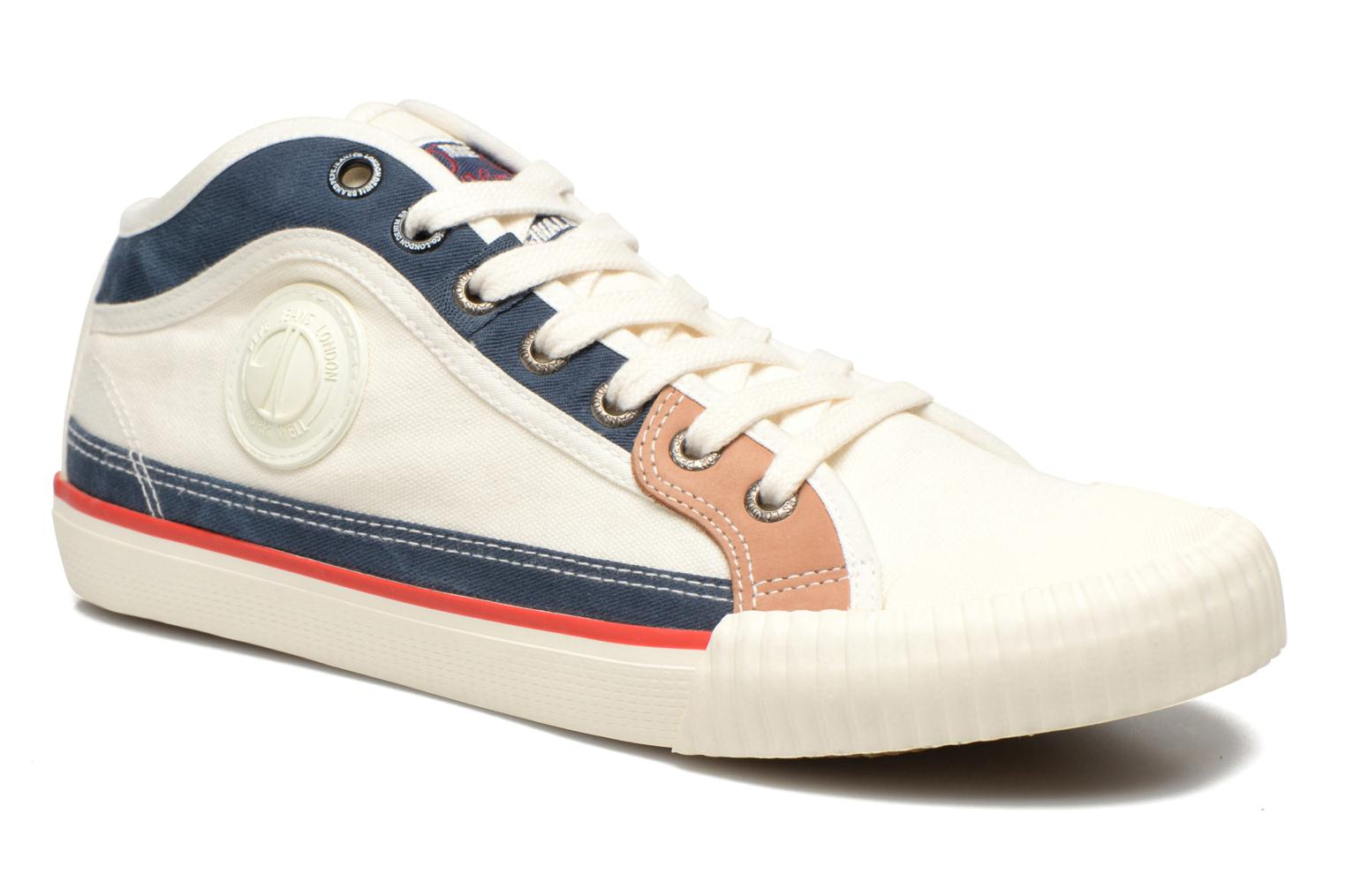 7520461f18ad Pepe jeans Industry Patch M (weiß) - Sneaker bei Sarenza.de (236346)