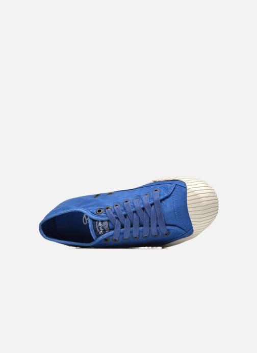 Sneakers Pepe jeans Saygon Low Blauw links