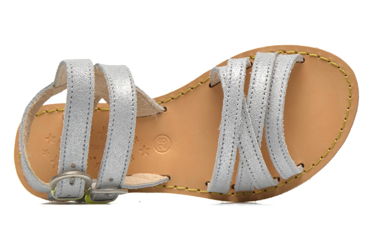 Sandalen Pepe jeans Tracy Basic K Zilver links