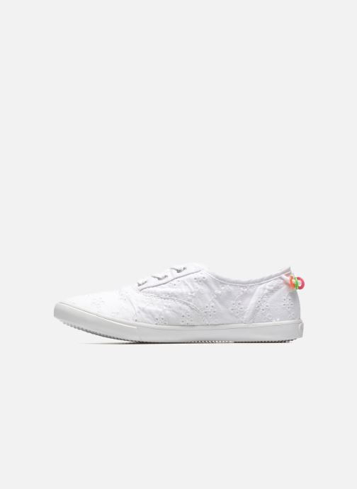 Baskets Pepe jeans Soho Embroidery Blanc vue face