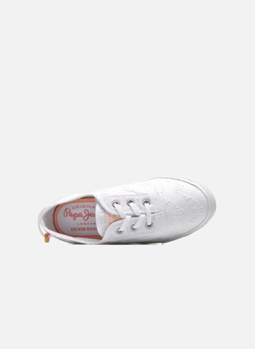 Sneakers Pepe jeans Soho Embroidery Wit links