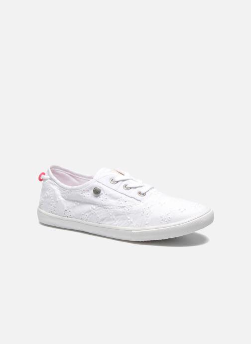 Baskets Pepe jeans Soho Embroidery Blanc vue détail/paire