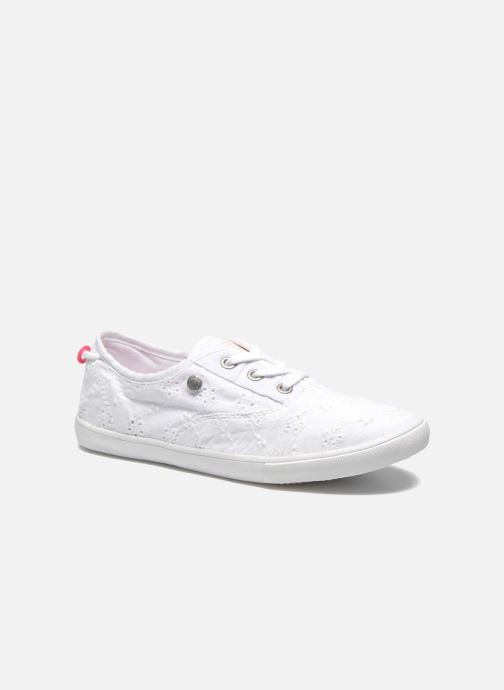 Baskets Pepe jeans Soho Embroidery Blanc vue détail/paire