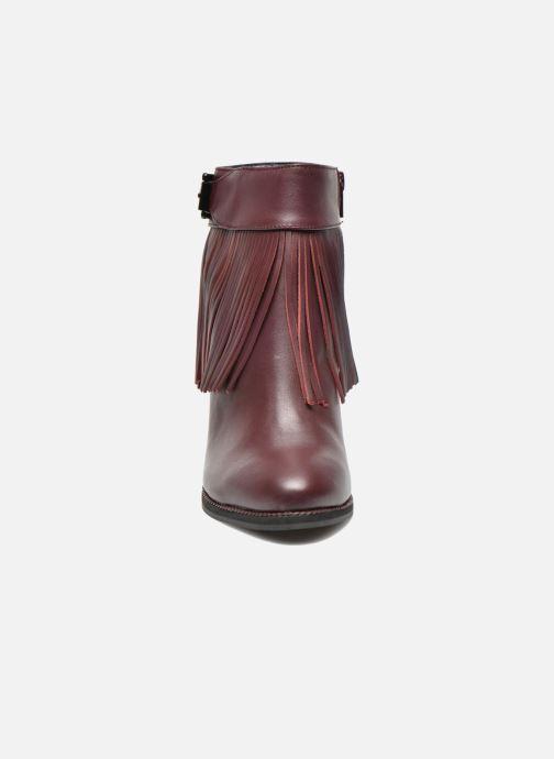 Bottines et boots Aldo TAHLIA Bordeaux vue portées chaussures