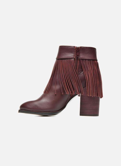 Bottines et boots Aldo TAHLIA Bordeaux vue face