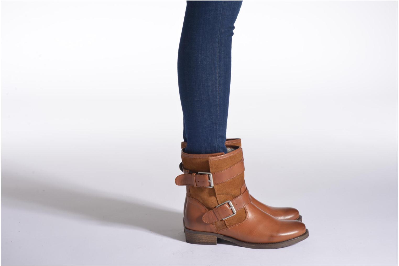 Stiefeletten & Boots Aldo ABASA braun ansicht von unten / tasche getragen