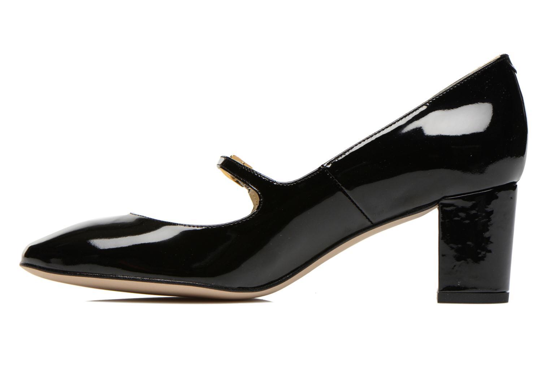 High heels Georgia Rose Tex new Black front view