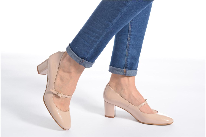 Zapatos de tacón Georgia Rose Tex new Beige vista de abajo